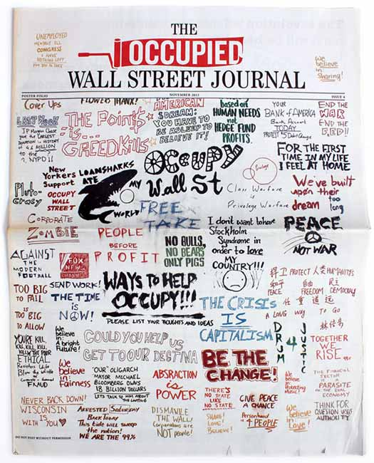 Occupied Wall Street Journal Poster Edition