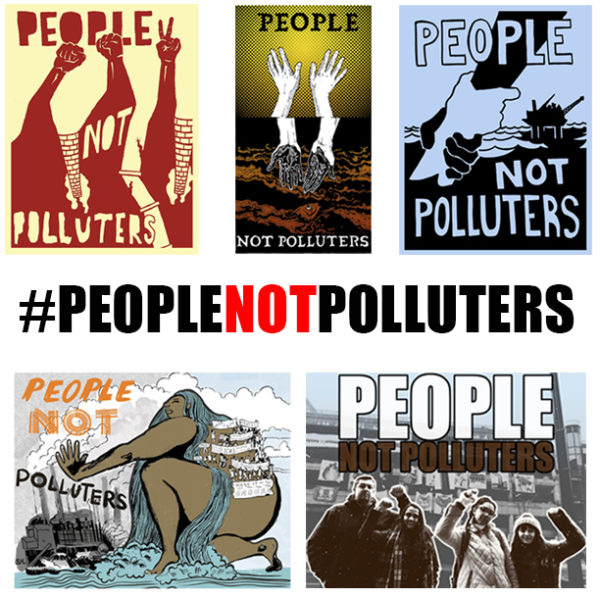 #PeopleNotPolluters