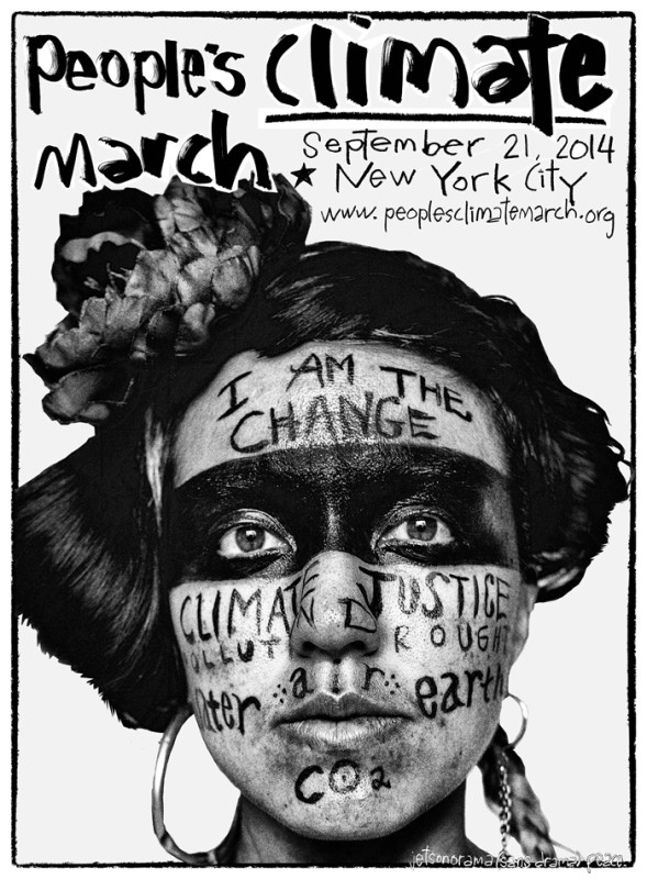 People's Climate March Commemorative Print