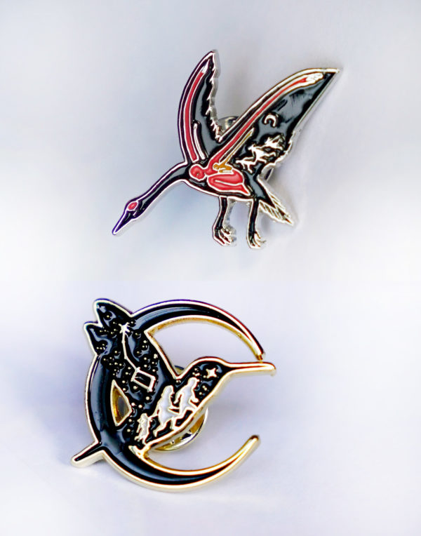Polaris Andino & Unstoppable by Borders: Migration Lapel Pin Set