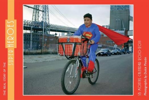 """Superheroes"" Calendar"