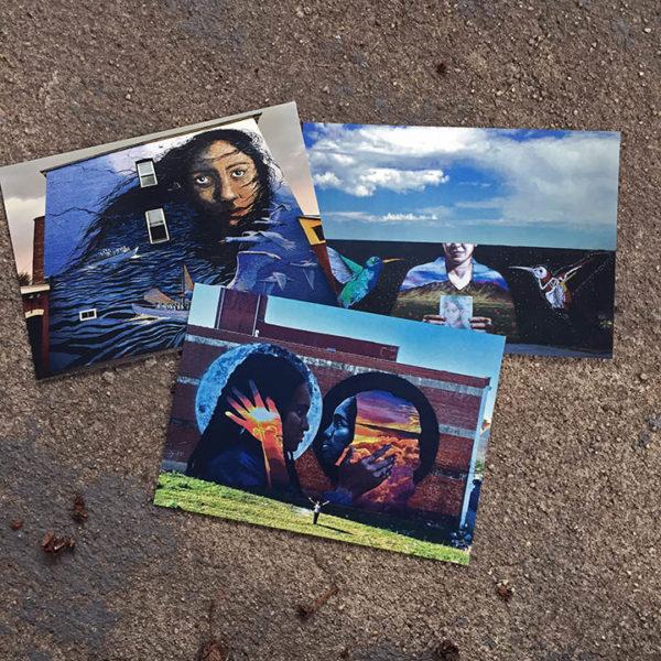 Mural Postcard Set: Women & Migration