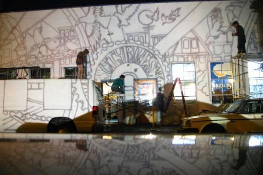Citybikes Mural in Portland