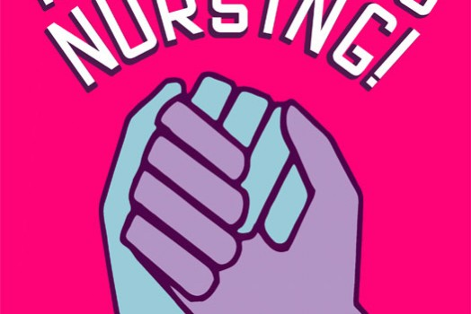Process: The logo for the Rebellious Nursing Conference