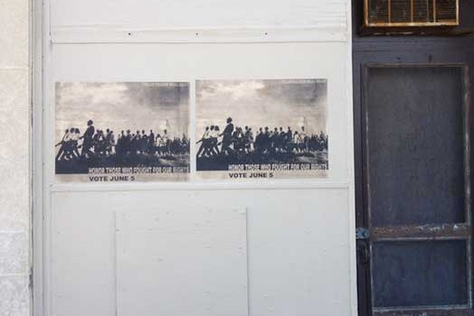 Recall Walker posters