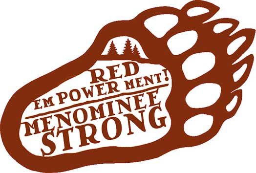 No Back Forty Mine – bear paw – RED emPOWERment