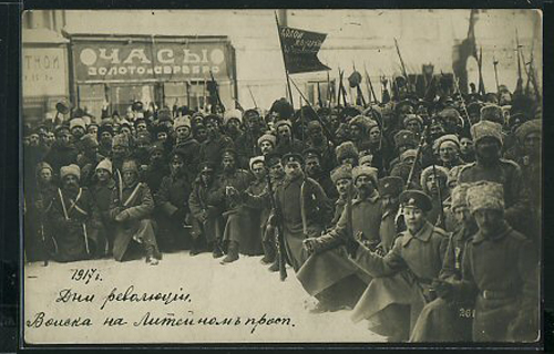 Russian Revolution Postcard Set