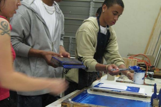 Printing with Pittsburgh Teens!
