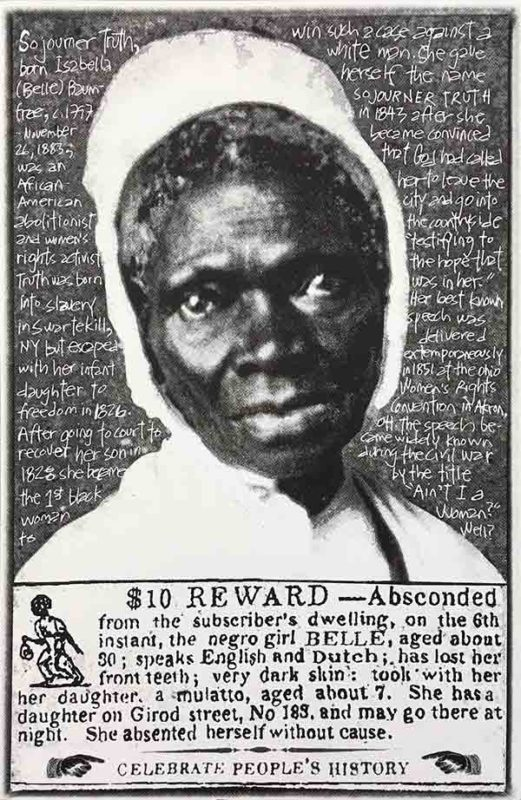Sojourner Truth: Celebrate People's History