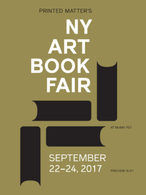 New York Art Book Fair 2017