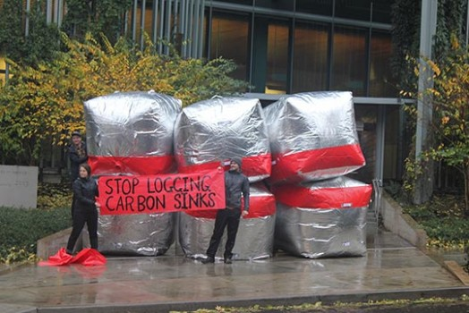 Inflatable Climate Action around the world!