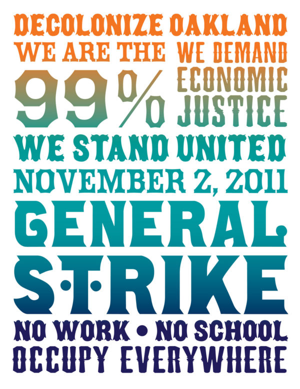 General Strike in Oakland