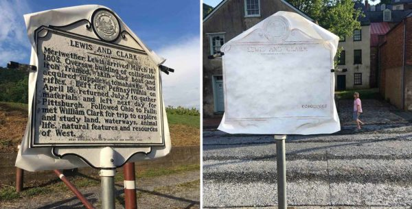 The Strike Was Crushed: new redacted historical marker rubbings by Shaun Slifer