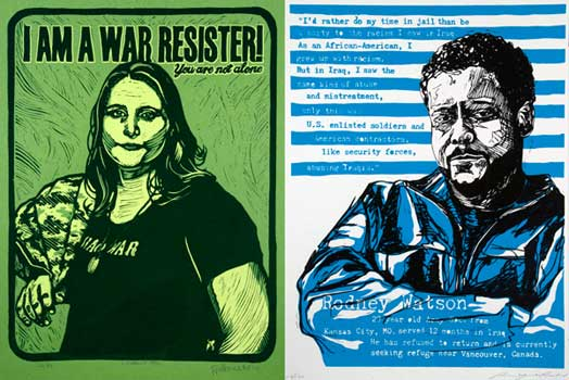 Two GI Resisters Rodney Watson and Kimberley Rivera Need Your Support NOW