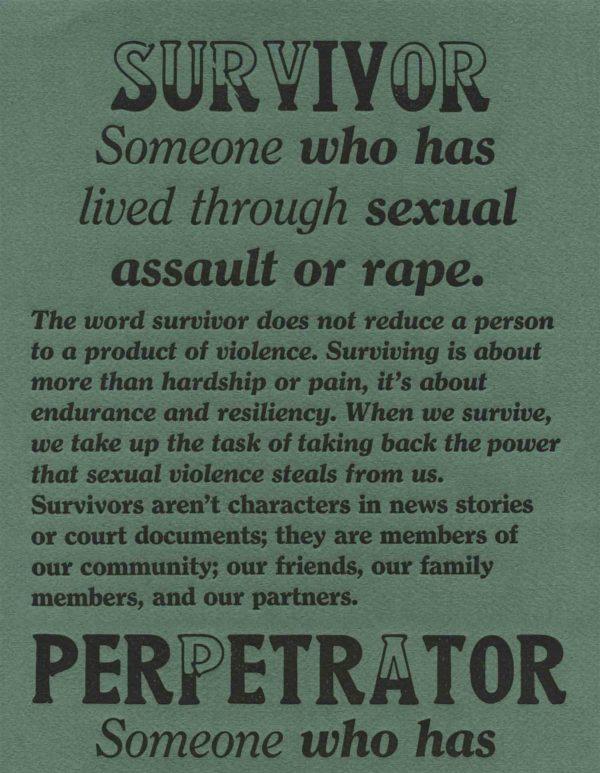 Survivor & Perpetrator