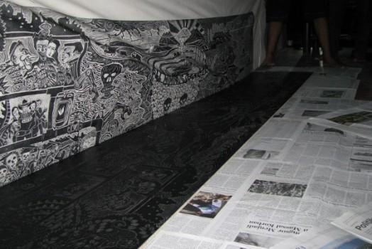 Printing with Taring Padi