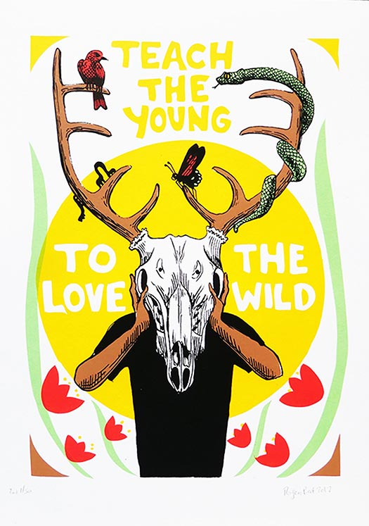 Teach The Young to Love the Wild