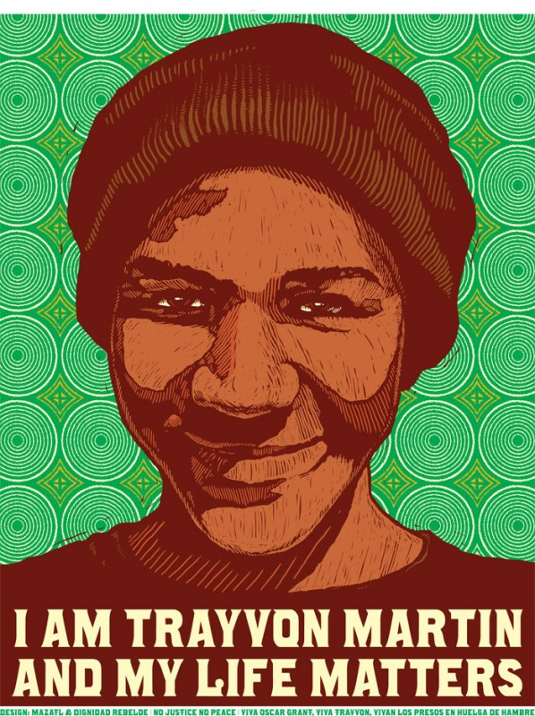 Downloadable I am Trayvon Martin Posters