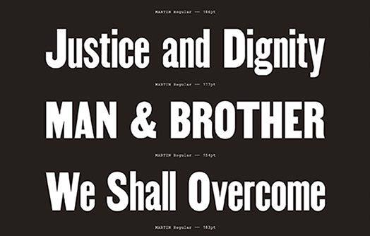 Civil Rights Fonts