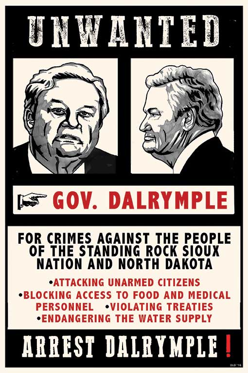 UNWANTED: Gov. Dalrymple