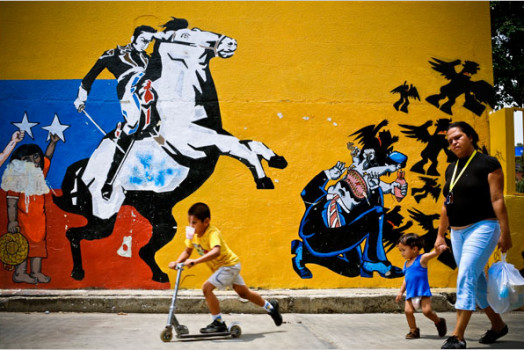 Venezuela Political Graffiti