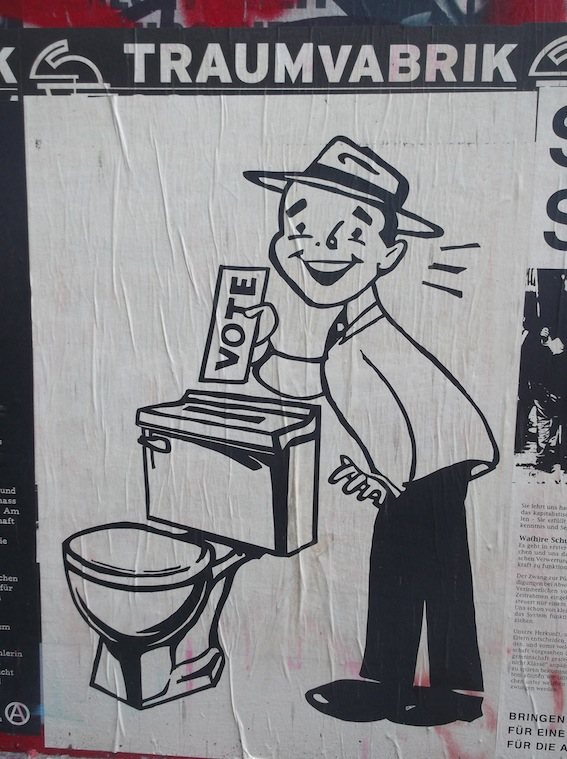 vote toilet