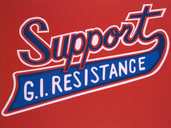 Support GI Resistance downloadable file on New War Is Trauma website