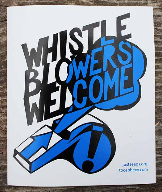 Whistle Blowers Welcome