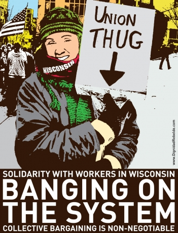 Solidarity with workers the workers in Wisconsin