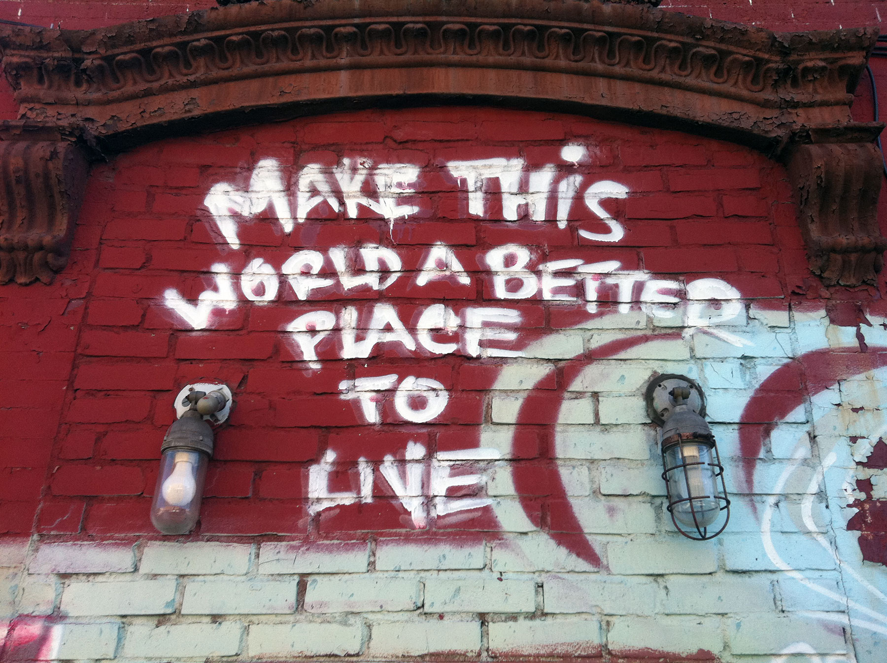World a better place to live essay