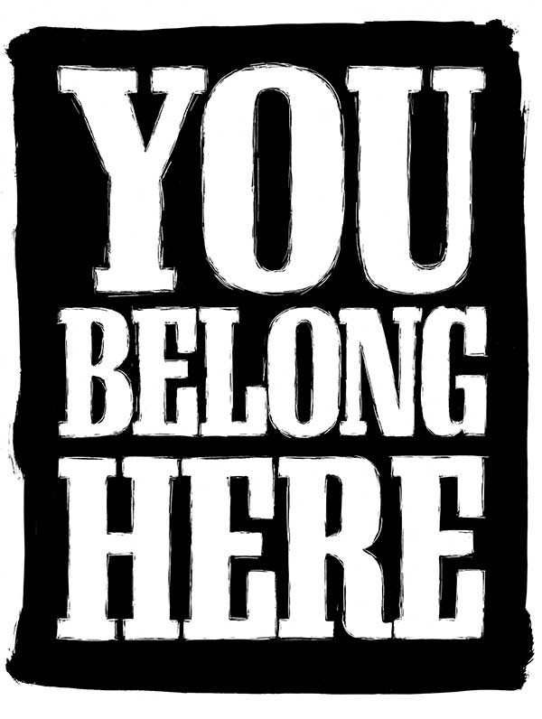 You Belong Here